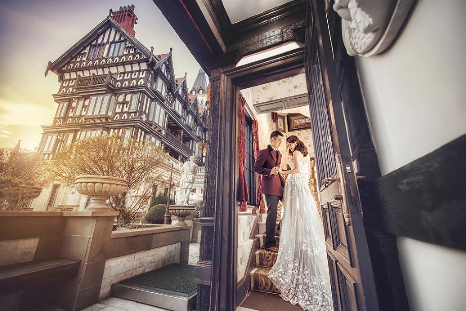 老英格蘭婚紗拍攝包套 台灣桃園婚紗攝影包套 桃園自助婚紗