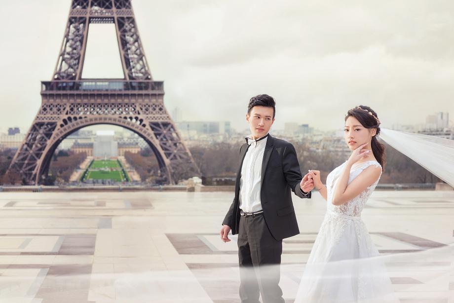 海外婚紗 法國巴黎婚紗 巴黎婚紗景點 歐洲婚紗 桃園自助婚紗工作室