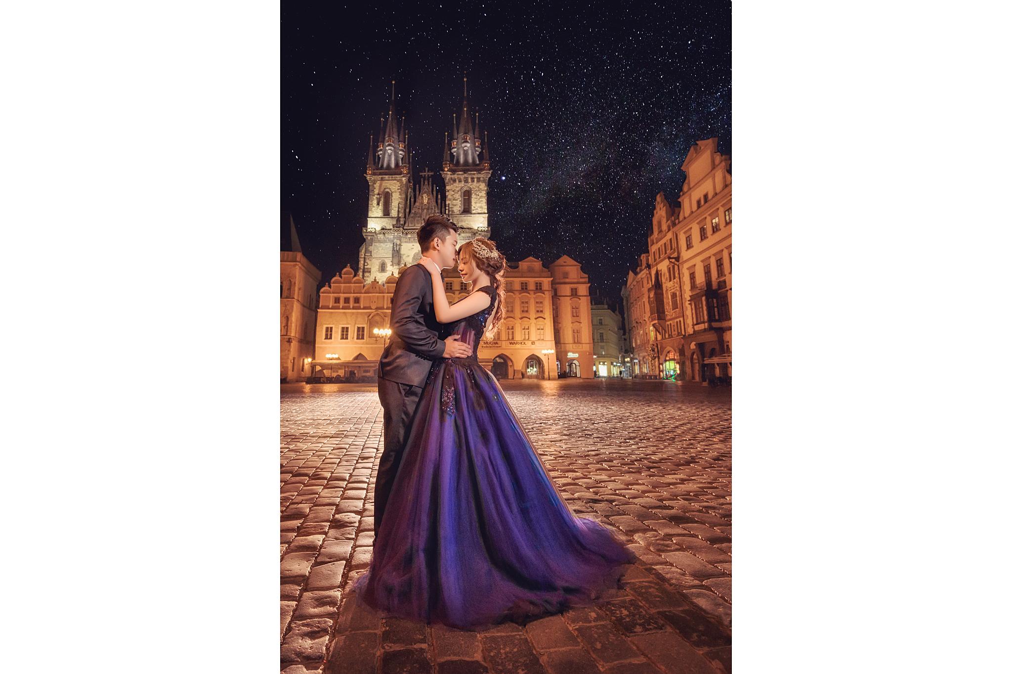 「作品分享」布拉格婚紗
